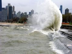 Chicago, always making waves.