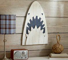 Shark Head Plaque #PotteryBarnKids