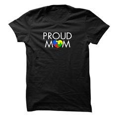 Proud Mom Autism Awareness Tee