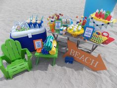 Host a Toddler-Friendly Beach Bash This Summer! #beach #summer #kidsparty