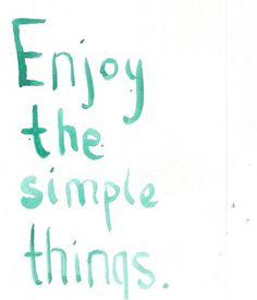 """Enjoy the simple things"" #quotes #BnBGenius #lifeisajourney"
