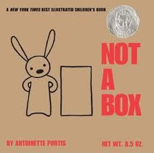 """Imagination: The Forgotten 21st Century Skill? """"Antoinette Portis wrote a book called Not a Box and, in my humble opinion, it's a must-have for every classroom. I was once asked what I thought the quintessential read-aloud book for kindergarten would be and (after I looked up the word quintessential to make sure I had the definition correct . . . and I did) I easily chose Not a Box.""""  I need to check this one out!"""