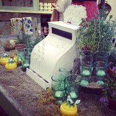 Anthropologie Display from Greenville SC Store via Lavender & Lilies