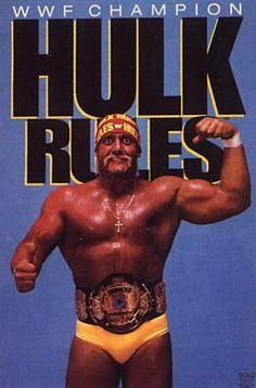 Hulk Hogan. #WWF #80s #90s #Wrestling #Retro #Vintage