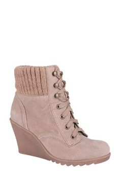 taupe colored boots