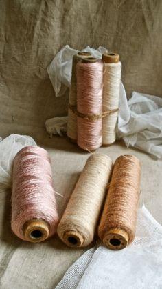 old thread spools