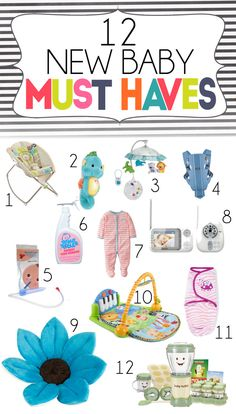 15 New Baby Must Haves | Essentials For The First Few Months