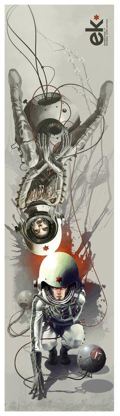 "Born In Concrete: Gallery EK 17 - ""The Ideal - Cretin and Whore"" 2010 the Art of Derek Stenning"