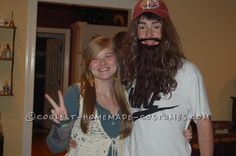 Cool Last-Minute Couple Halloween Costume: Runnin' Forrest and His Girl Jen-nay… Coolest Halloween Costume Contest