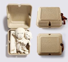 Return To Nature 100% organic cotton sisso 編織未來  clever #eco #packaging matching the product inside PD