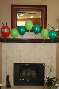 3. Decoration. #WorldEricCarle and #HungryCaterpillar