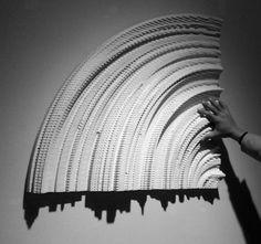 shadow citi, art inspir, instal, geocognit 2012, shadow art
