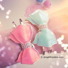 cute bow bracelets