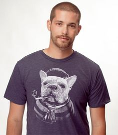 Daily Tee: French Bulldog t-shirt design #funny #french #bulldog #tshirts #tees #design