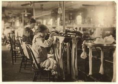 11-year-old at Crescent Hosiery Mill - Heart-Breaking Pictures of Child Labour In USA by Lewis Hine. This photo series, archived by the Library of Congress, shows what conditions were like for child laborers before child labor was largely eliminated in 1938.