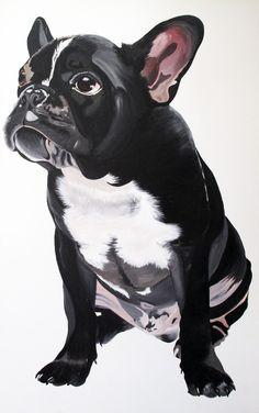 """Saatchi Online Artist: Eloisa Ballivian; Acrylic, 2011, Painting """"""""Genial"""""""""""