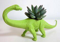 Toy Dinosaur Planters