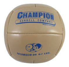 Champion Medicine Ball Synthetic Leather (6-7 Lbs)