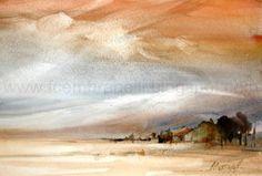 watercolor art, fabio cembranelli, landscap art, arti stuff, interview