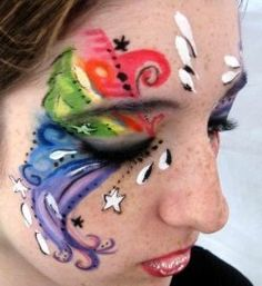 butterfly face painting tutorials
