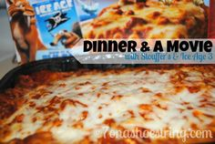 Family Dinner and a Movie with Stouffer's and Ice Age 3 #time4family #CBias