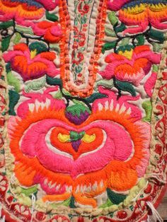 vintage hmong embroidery