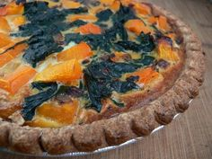 Make this savory Butternut Squash Quiche for your next brunch or Sunday get-together #OLW