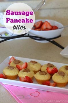 Breakfast Ideas for Kids: Sausage Pancake Bites