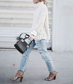 sweater + shoes + pu