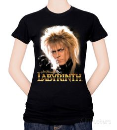 Juniors: Labyrinth-Jareth T-Shirt at AllPosters.com