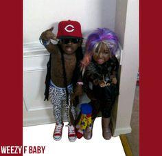 Lil Wayne & Nicki Minaj Couples Costume With Some Pizzaz!