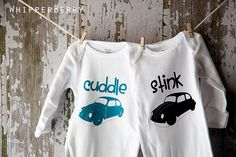 Super cute onsies! {heat transfer}