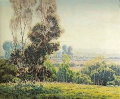 Early California Impressionism - Arcadia by Sam Hyde Harrie (1889-1977) c.1925