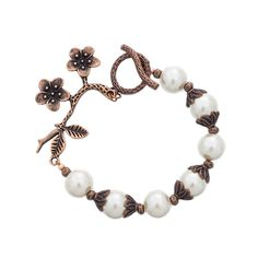Pearl Garden Bracelet, 7 and 1/2""