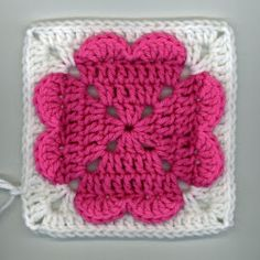 Valentine's Day will be here before you know it, so get crocheting with this adorable free crochet afghan square pattern! This 4 Heart Square is the perfect homemade gift to give your sweetheart this year. Use worsted weight yarn and a J hook to create this heartfelt square.