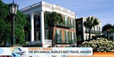 "Travel+Leisure magazine names Charleston ""Top City in the U.S. & Canada!"""
