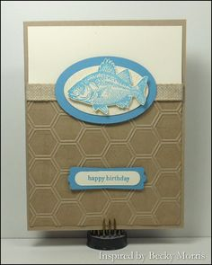 View Been Fishin' Image · InkUp - Sharon Cline, Independent Stampin'Up! Demonstrator, Purcellville Virginia