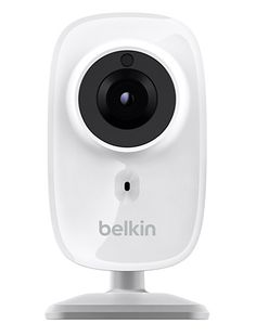 NetCam HD Wi-Fi Cam with Night Vision - This new netcam from Belkin enables you to easily monitor your home, pets and unattended children in 720p HD and night vision from your smartphone.   Werd