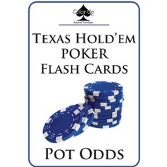 Color Up Texas Hold'em Poker Flash Cards: POT ODDS (Cards)