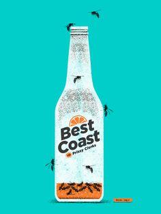 Best Coast - Prissy Clerks Poster