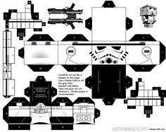 Build Your Own Cubecraft Stormtrooper [Star Wars]