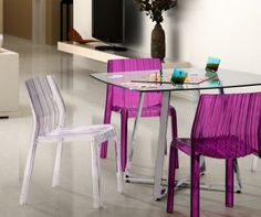 contemporary table from Dinettes by Design