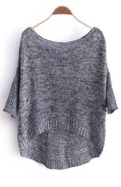 {3/4 sleeve oversized sweater} pull on over tank top + leggings + go!