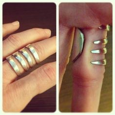 love this upcycled fork ring