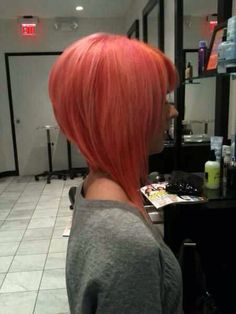 This is too long in the front for me, but the shape in the back is really great!