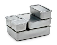 Stainless Steel Storage Containers