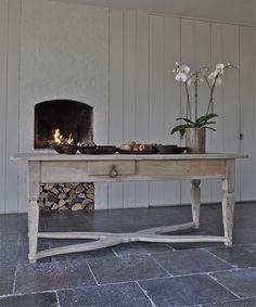 The paper mulberry loves on pinterest grain sack for Bluestone flooring interior