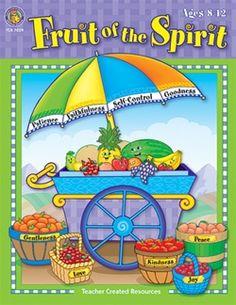 Fruit of the Spirit Activity Book