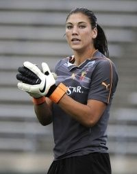 Hope Solo USA Womans Soccer Team