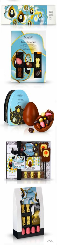 Hotel Chocolate Easter #chocolate #packaging #easter